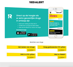 Download de vernieuwde Red Alert app